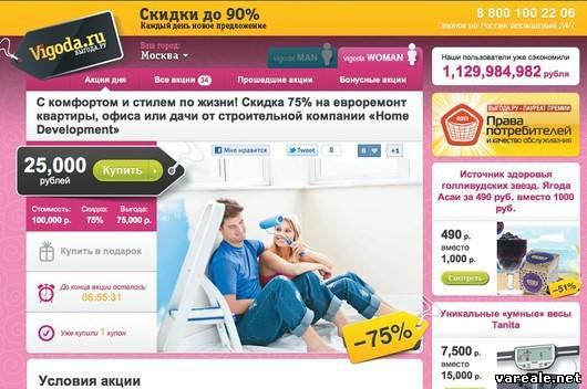 Сайты купонов со скидками москва
